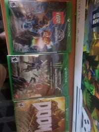 Xbox 1 games 3 for $50 or $20 each San Jose, 95118