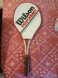 Vintage Tennis Racket South Bend, 46616