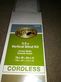 3.5in Vertical Blind Kit (CORDLESS) Nashville, 37013