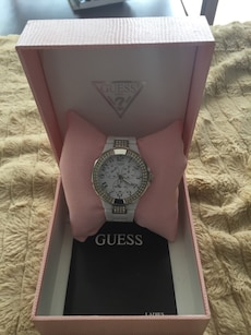 Guess Watch - barely noticeable crack