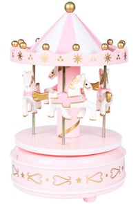 Brand new Carousel Music Box TrojanBirthday Decoration ( without cake)