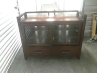 Free delivery media console entertainment center  Hyattsville, 20784