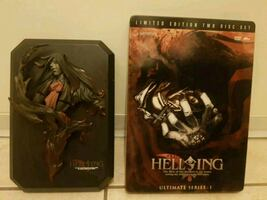 New Limited Edition Hellsing Ultimate Series : 1 Dvd + Alucard Figure