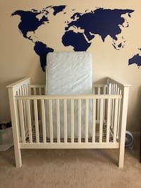 Pottery Barn Kids Kendall crib with Simmons mattress bought from Pottery Barn Kids  Springfield, 22152