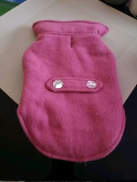 Small dog coat with bling buttons Kitchener, N2N 3J6