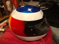 Ferrari Helmets /tire with glass and factory flag Cohasset, 02025
