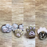 Cute Cat Paws Pins