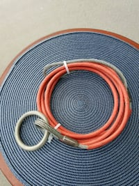 6Ft Steel Cable with O-Ring & Loop