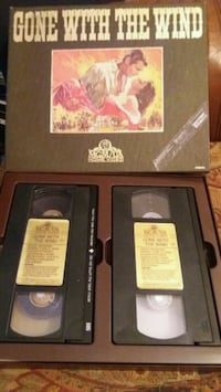 GONE WITH THE WIND Collector's Box Set (VHS) Lewisville, 75067