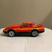 1968 Matchbox Red Nissan 300 ZX Turbo 1:58 Scale Toronto, M8Y 4G7