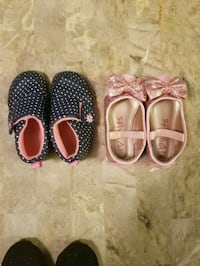 2 pairs size 5 little girl shoes Antelope