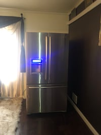 Stainless steel french doors Kenmore  refrigerator  College Park, 20740