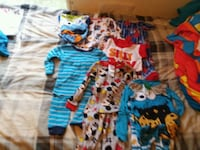 toddler's assorted-color clothes lot Taylor, 48180