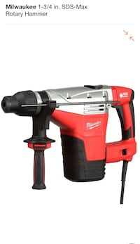 """Milwaukee  [PHONE NUMBER HIDDEN] """" SDS-MAX ROTARY HAMMER CORDED NEW Roswell, 30075"""