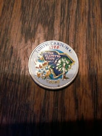 white round commemorative coin Douglas, 31533