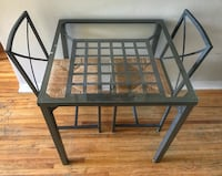IKEA GLASS TOP KITCHEN TABLE AND CHAIRS Vancouver, V5L