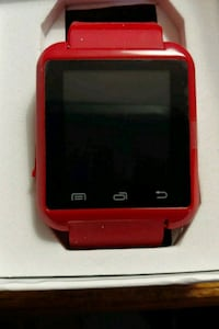 Last One red and black digital watch device