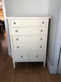 6 drawer tall dresser - white (neatly nested)