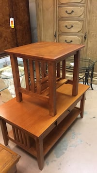 mission style coffee and end table Saint Petersburg, 33713