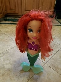 Disney Ariel singing doll like new condition Toms River, 08753