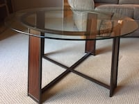 Glass coffee table London