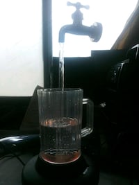 Man cave optical illusion beer pitcher