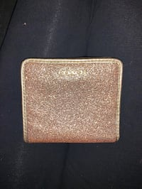 NEVER BEEN USED! Gold Coach Wallet!