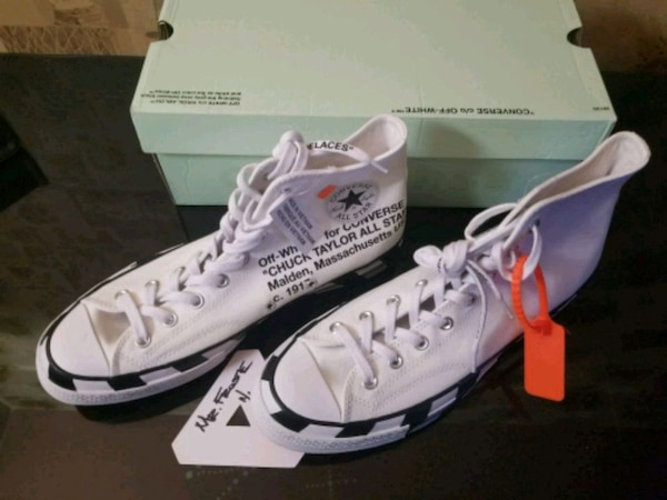 Used Off-White x Converse Chuck Taylor 70s - Size 11.5 for sale in New York 3cb33d26b