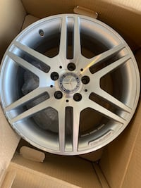 Set of 4 Mercedes amg rims cantered Stephens City, 22655