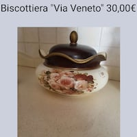 "Biscottiera ""Via Veneto "" Spinelli I, 80010"