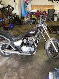black and gray cruiser motorcycle Lawton, 73501