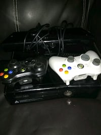 black Xbox 360 console with controllers Ogden, 84403