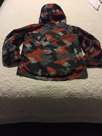 Camouflage zip up hooded jacket 1415 km