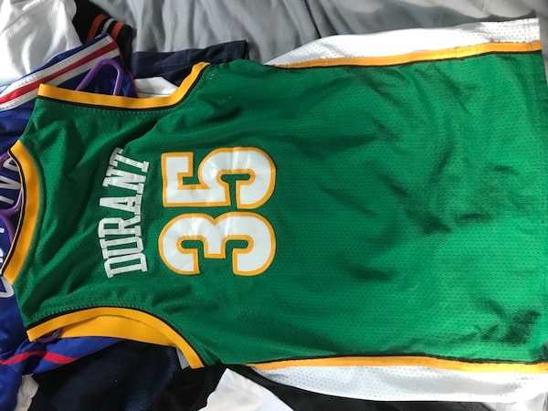 Used Kevin Durant Seattle Sonics Jersey for sale in Rye - letgo 7afb22d0d