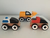 IKEA LILLABO Toy vehicle set of 3 Reston, 20191