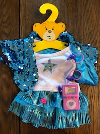 Build-a-bear sequined outfit  29 km