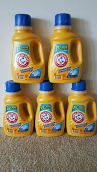 5 Arm and Hammer liquid laundry detergent bundle  Rockville