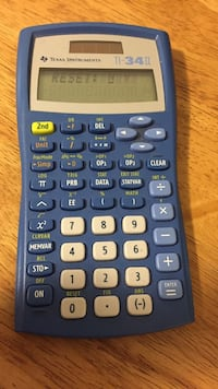blue and gray Texas Instrument TI-34 2 graphing calculator Orlando, 32828