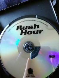 Rush Hour DVD movie disc in case