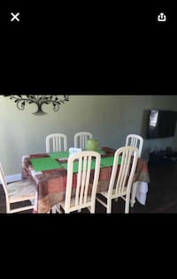 Free table and 6 chairs