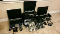 Lot of 3 Laptop Computers with Accessories Tomball, 77375