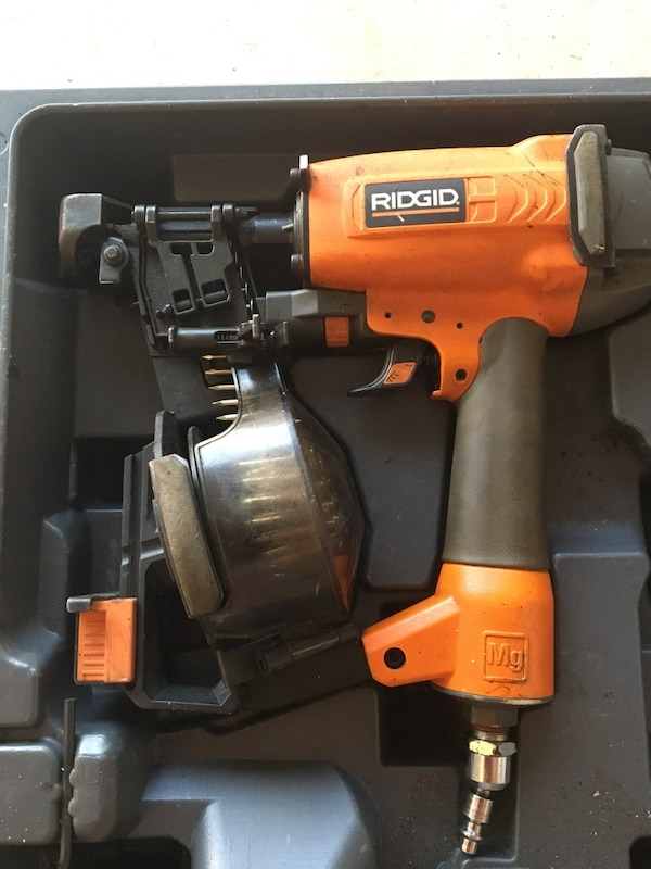 Used Rigid Roof Nail Gun For Sale In Springfield Letgo