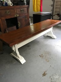 Beautiful solid wood bench great colors West Simsbury, 06092
