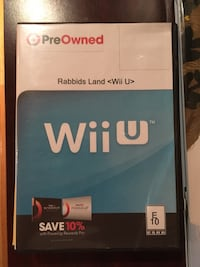 Like New Pre Owned Rabbids Land for Wii U Reston, 20194