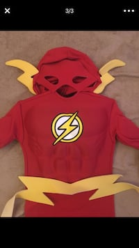The Flash Costume size 2T-4T Grand Terrace, 92313