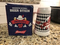 Washington Nationals Oktoberfest Beer Stein Arlington, 22207