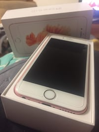 Rose gold iphone 6s with box