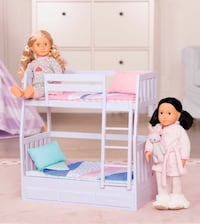 "Bunk beds for 18"" dolls"