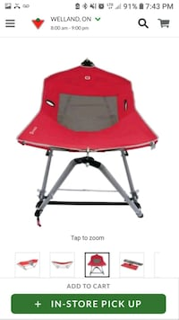 Outbound Foldable Pop Up Hammock with Bag