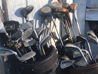 black and gray golf club set South Bend, 46614
